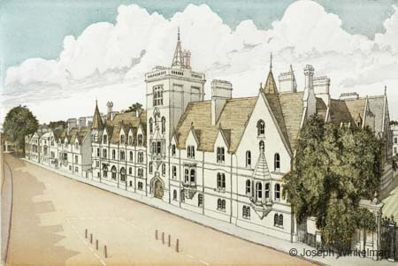 Balliol College, Broad Street